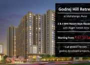 Godrej Hill Retreat Mahalunge Pune | Life Doesn't Get Any Better