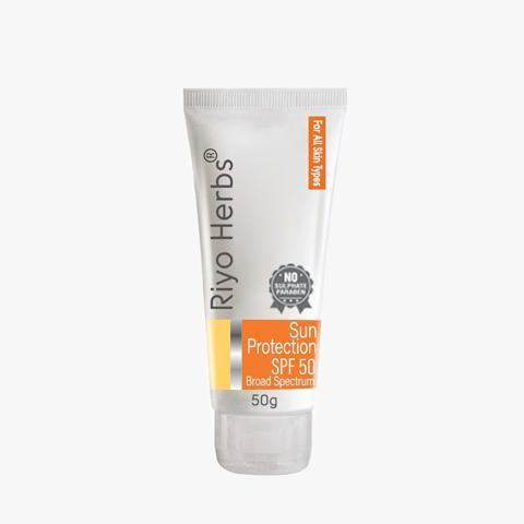 Natrual sun cream