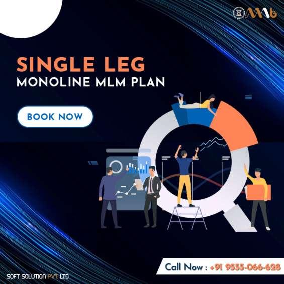 Single leg/monoline mlm plan overview