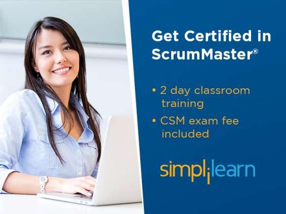 Certified scrummaster® (csm) certification training in delhi