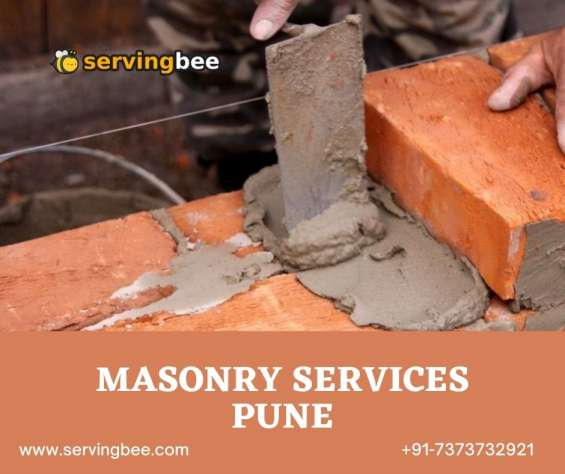Why masonry service in pune is vital?