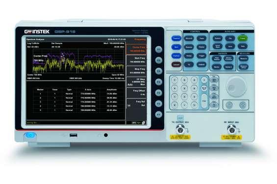 Buy best gw instek gsp-818 spectrum analyzer from spi engineers