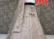Celebrity look bridal lehenga now available in chandni chowk.