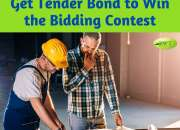 Get tender bond to win the bidding contest