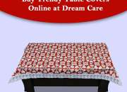 Check out trendy table covers online at dream care