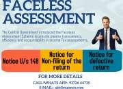 Faceless assessment & appeal service